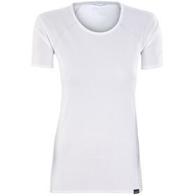 Patagonia Capilene Lightweight Bluzka z krótkim rękawem Kobiety biały